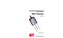 Delta-T - Model WET-2 - Soil Moisture Sensors - Manual