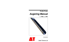 Model PR2 and PR1 - Augering Manual