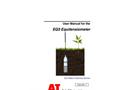 Delta-T - Model EQ3 - Equitensiometer - User Manual
