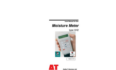 Delta-T - Type HH2 - Moisture Meter - Manual