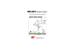 WS-GP2 - Weather Station - Quick Start Guide