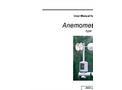 Type AN3 - Anemometer - User Manual