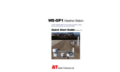 WS-GP1 Weather Station Quick Start Guide