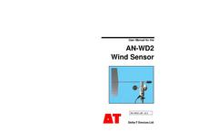 Model AN-WD2 - Wind Sensor - User Manual