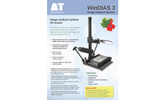 WinDIAS - Model WD3 - Leaf Image Analysis System - Datasheet