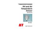 Type RHT4nl-02 - RH and Air Temperature Sensor - Manual