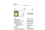 Earthquake - Model 800 - Gas Shutoff System Brochure