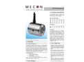 mag-flux - Model S - Electromagnetic Flowmeters Brochure