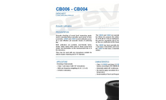 Model CB006 - Acoustic Calibrator– Brochure