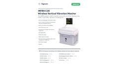 INFRA - Model C20 - Wireless Vertical Vibration Monitor - Datasheet