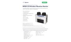 INFRA - Model C10 - Wireless Vibration Monitor - Datasheet