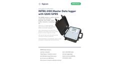 INFRA Master - Model 4100 - Data Logger with GSM/GPRS - Datasheet