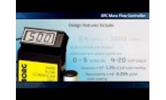 Aalborg GFC Mass Flow Controller // PCE - Video