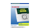 Aalborg - Model GFC17A-BAL6-B0 - Thermal Mass Flow Controllers - Brochure