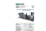 Model 5 to 50 HP Compressor System, Air Cooled - Brochure