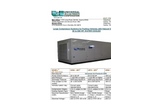 Model 20 to 200 HP Compressor System, Water Cooled - Brochure