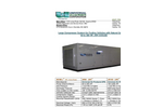 Model 60 to 300 HP Compressor System, Air Cooled - Brochure