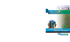 Mighty Mike U&F-BOOST! Sewage Treatment Tablets Brochure