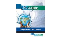 RollsAIR - Model XL & XXL - Extended Aeration Wastewater Treatment System - Brochure