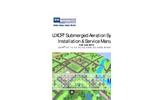 LIXOR - Submerged Aeration System Installation & Service Manual