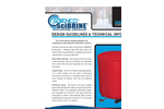 Scienco SciBRINE - Brinemaker Design Guidelines