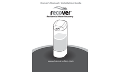 Recover - Installation & Service Manual