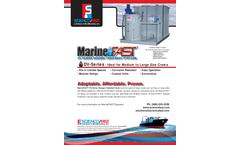 MarineFAST - Model DV Series - Sewage Treatment Systems - Brochure
