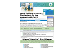 Disinfectants for Use Against SARS-CoV-2