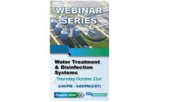 Water Treatment & Disinfection Systems - Webinar