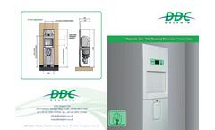 DDC - Model Maxi & Maxi+ - Panamatic Top-Loading Bedpan Washer Disinfectors - Brochure