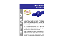 Electric H2O - Sweeper Jet System Brochure