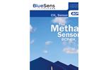 BlueSens - Model BCP-CH4 - CH4 Sensor for In-situ Gas Analysis - Brochure