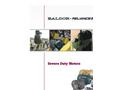 Severe Duty Motors - Brochure