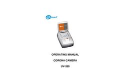 Model UV-260 - Non Destructive Testing Equipment (NDT) Brochure