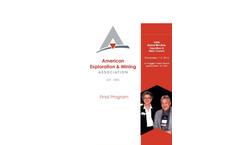 Annual Meeting - Brochure