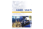 Model A4400 VA4 Pro - 4 Channel Vibration Analyzer Brochure