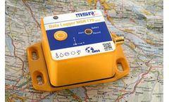 Transportation Data Logger with GPS Tracking: MSR175plus for shock and climate