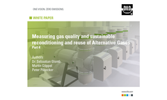 DILO Whitepaper - Measuring gas quality and sustainable reconditioning and reuse of Alternative Gases - PART 4