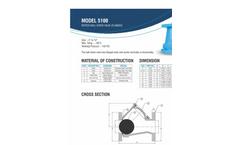 5100 Series Flanged Ball Check Valve Brochure