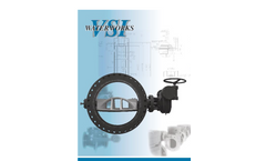 VSI - Model Series BFII 30 to 144 inch - Butterfly Valve with Bolted Seal - Brochure