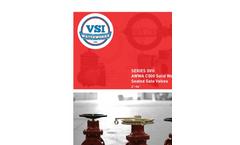 Model GVII - AWWA C500 Solid Wedge Metal Seated Gate Valves - Brochure