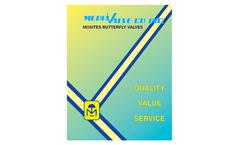 Mosites - Model A20 - Butterfly Valve Brochure