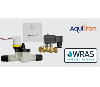 WRAS-approved water shut-off solenoid valves for leak detection applications