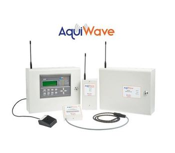 First AquiWave wireless water leak detection systems professionally installed & maintained