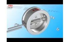 FBV Dual Plate Wafer Check Valve Video