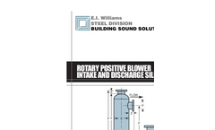 Rotary Positive Blower Intake and Discharge Silencers - Brochure