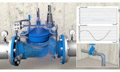 COMEVAL CSA XLC 310 410 pressure reducing valve - Video