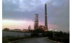 High pressure motorized gate valves for oli refinery in Azerbaijan