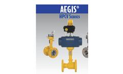 Aegis - Model HCPV Series - High Integrity Ball Valves - Brochure