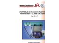 Model IS210-P - Portable Flowmeter Brochure
